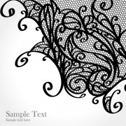 Link toSet of old lace vector background art 01