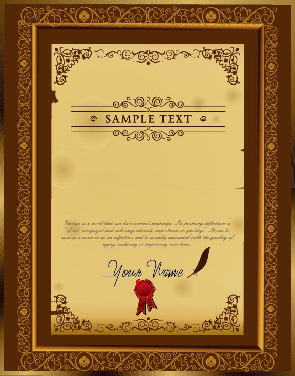 Exquisite certificate cover templates vector set 02 free download exquisite certificate cover templates vector set 02 yelopaper Choice Image