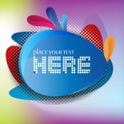 Link toColorful background with shiny label vector graphic 02