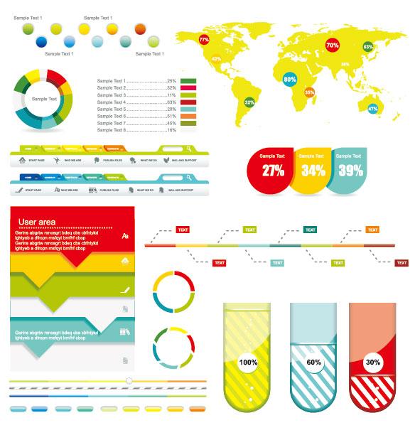 Ekonomi Infographic Tasarım Elementleri