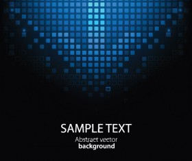 creative Pixels background vector set 03