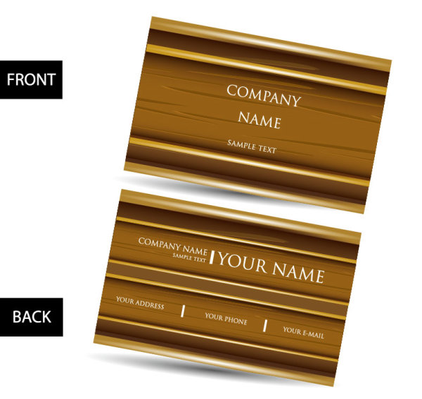 Creative business cards design elements vector 01