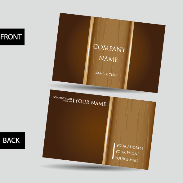 Creative Business Cards design elements vector 02 - Vector Card ...