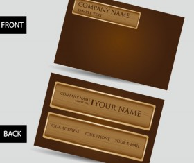 Creative Business Cards design elements vector 04