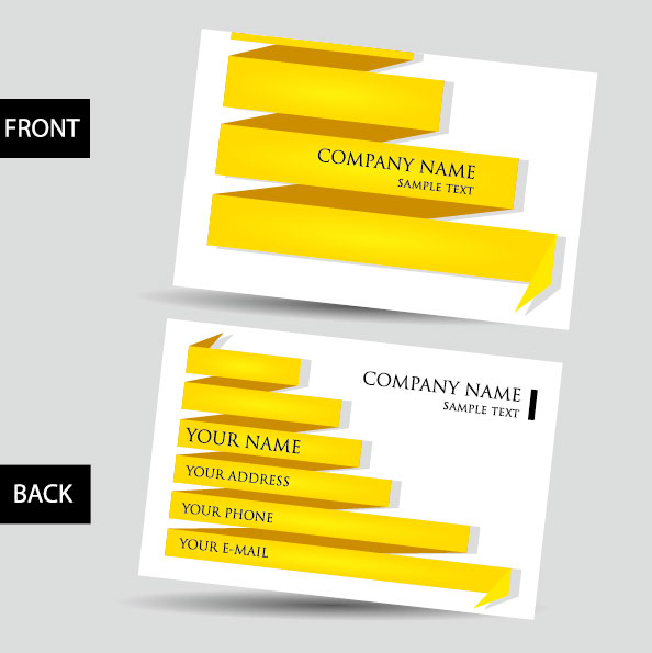 Creative Business Cards Design Free Download: Creative Business Cards design elements vector 05 free downloadrh:freedesignfile.com,Design