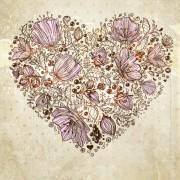 Link toHand drawn flower vector background art 02