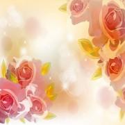 Link toBright background with flower design vector 02