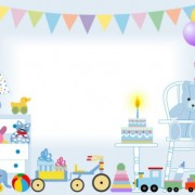 Link toCute baby design elements vector graphic set 06