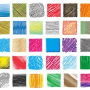Link toHand drawn colorful pencil pattern vector 02