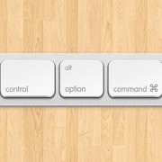 Link toApple keyboard button psd graphic