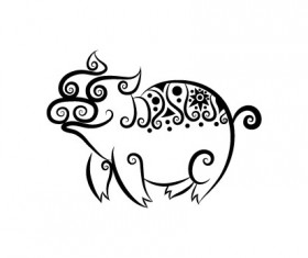 Collection of Hand drawn Animal Pattern vector 05