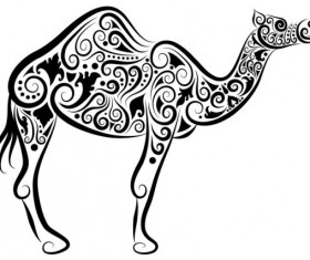 Collection of Hand drawn Animal Pattern vector 13