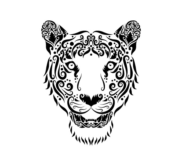 Collection of Hand drawn Animal Pattern vector 15