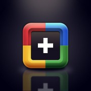 Link toSet of creative google+ icon