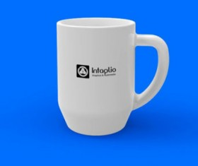 Set of Vivid of Cup PSD graphic 04