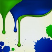 Link toSet of paint color drops vector background art 02