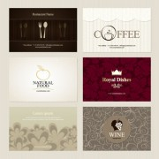 Link toPresentation of creative coffee cards design elements vector 05