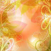 Link toVector background of shiny floral art