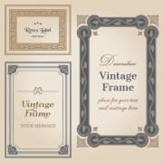 Link toSet of decorative vintage frame vector graphics 03