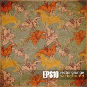Link toVector grunge background with retro elements 05