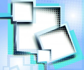 Abstract background with text box vector graphic 02