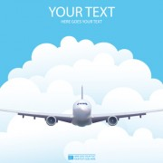 Link toElements of airlines background design vector 01