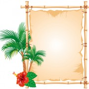 Link toSet of different of bamboo frame design vector 02