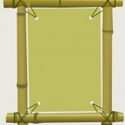 Link toSet of different of bamboo frame design vector 04