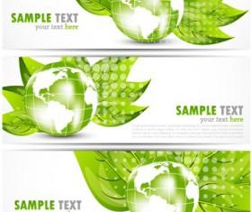 Bright Stylish banners design vector set 05