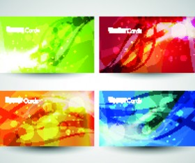 Different Business cards design vector graphics 05