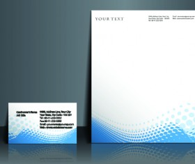 Business style flyer and cover brochure vector 05
