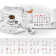 Link toSet of creative calendar 2013 design vector 05