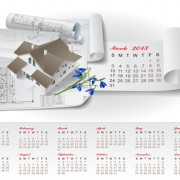 Link toSet of creative calendar 2013 design vector 06