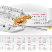 Link toSet of creative calendar 2013 design vector 10