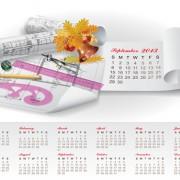 Link toSet of creative calendar 2013 design vector 13