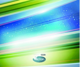 Shiny background with Colorful lines vector graphic 01