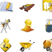 Link toVarious builders icons mix vector set 01