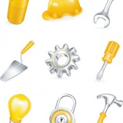 Link toVarious builders icons mix vector set 02