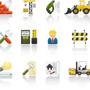 Link toVarious builders icons mix vector set 03