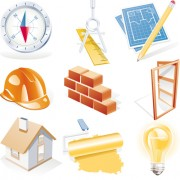 Link toVarious builders icons mix vector set 04