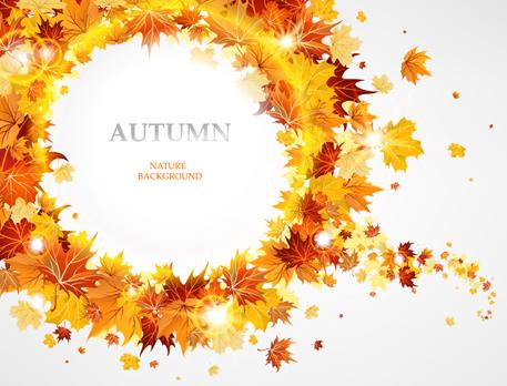 Creative autumn leaves figures vector background 02 over creative autumn leaves figures vector background 02 toneelgroepblik Choice Image