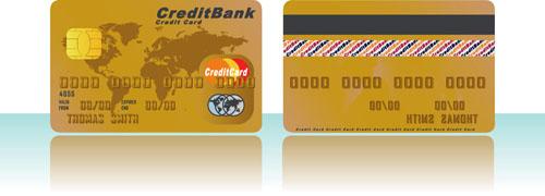 credit card logos vector credit card vector template