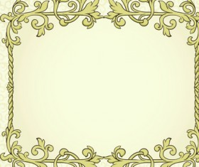 Set of Delicate frames design vector graphic 01