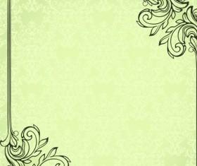 Set of Delicate frames design vector graphic 02
