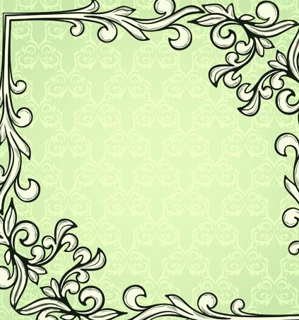 Set of Delicate frames design vector graphic 04