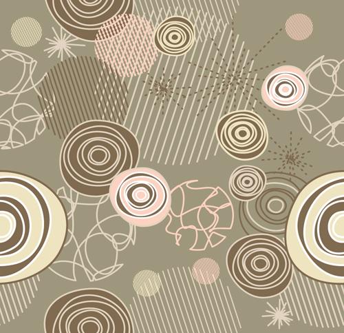 Elements of Light Floral vector Background 01