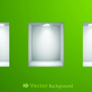 Link toSet of empty frame on the wall vector 02