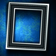 Link toSet of empty frame on the wall vector 05