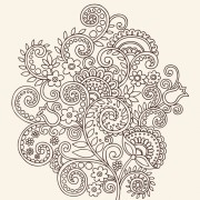 Link toVector graphic flower ornaments pattern 01