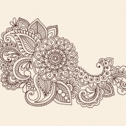 Link toVector graphic flower ornaments pattern 04